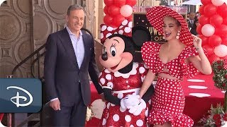 Minnie Mouse Receives a Star on The Hollywood Walk of Fame | Kholo.pk