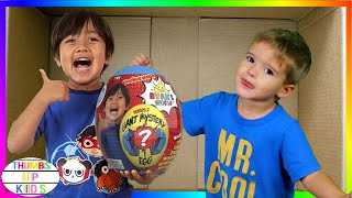 We Lost Our Son in the Mail   I Mailed Myself to Ryan Toysreview   Thumbs Up Kids