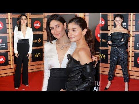 Alia Bhatt Bonds With Kareena Kapoor at 21st JIO Mami Film Festival