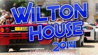 WILTON HOUSE CLASSIC SUPERCAR 2014!