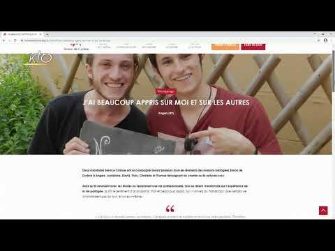 Le site web Simon de Cyrène