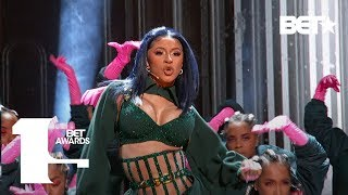 "Cardi B & Offset In Fire ""clout"" & ""press"" Performance At The Bet Awards!   Bet Awards 2019"