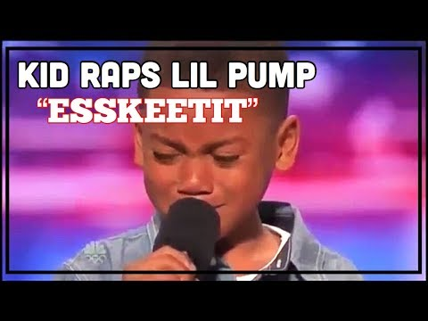 "KID RAPS LIL PUMP ""ESKETITT"" ON AMERICAS GOT TALENT! HILARIOUS"
