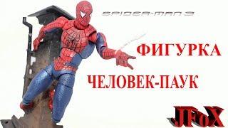 Фигурка Человек-Паук/Sci-Fi Revoltech Spider-Man 3 Figure