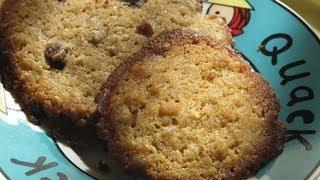 Como hacer Cookies con pepitas chocolate y cítricos - Fácil