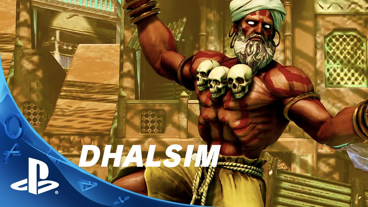 Street Fighter V Launching February 16th, 2016, Dhalsim Revealed