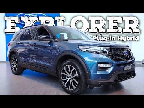 New Ford Explorer Plug-in Hybrid 2021