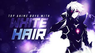 Top 30 Anime Boys With White  Silver Hair [HD]