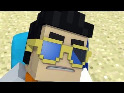 опа гангам стайл в minecraft!!!