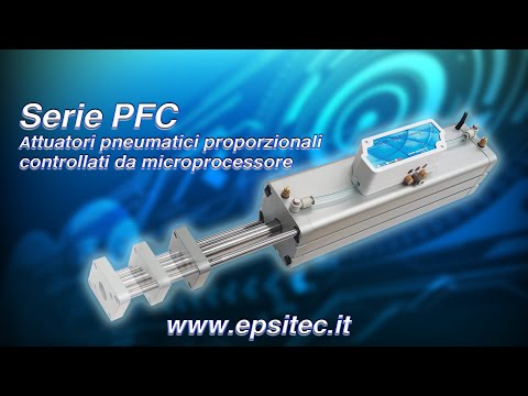 PFC Attuatori pneumatici proporzionali controllati da microprocessore.