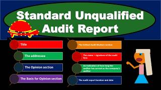 Standard Unqualified Audit Report