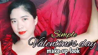 Simple Make-up For Valentines Day X Masquerade Party Look By BeyondOnesKhen TH