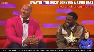"Dwayne ""The Rock"" Johnson & Kevin Hart very funny interview with Graham Norton [1080p HD]"