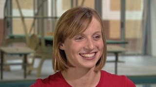 Pushing the Limits: Swimmer Katie Ledecky makes history