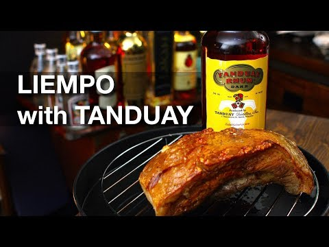 Korean Cooks and Tries Filipino LIEMPO with TANDUAY