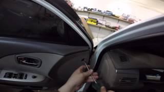 Chery Elara disassembly door -Chery Elara разборка двери