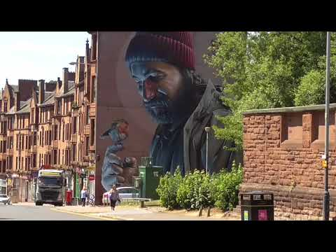 Visit Glasgow: Walk Around The Fantastic City Centre Mp3