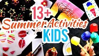 Summer Activities For Kids | Fun Painting Ideas For Kids | Summer Camp Activities At Home