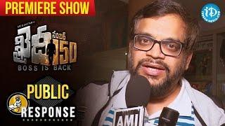 Chiranjeevi Khaidi No 150 Movie Premiere Show Public Response  KhaidiNo150  VV Vinayak