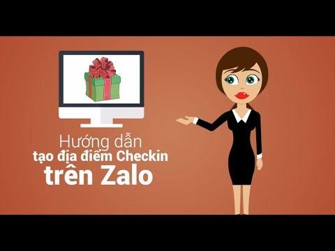 Hướng dẫn tạo địa điểm để Check in trên Zalo