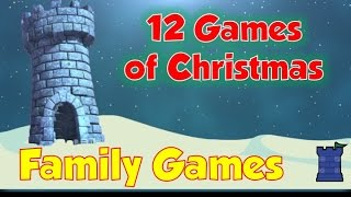 12 Games of Christmas - Family Games