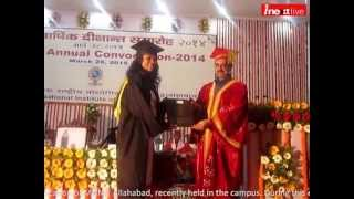 preview picture of video '72 scholars become Gold Medalist in Eleventh convocation of MNNIT, Allahabad'