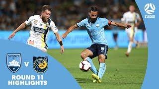 Hyundai A-League 2018/19 Round 11: Sydney FC 5 - 2 Central Coast Mariners