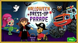 Nick Jr. Halloween Dress Up Parade - Full Game For Kids
