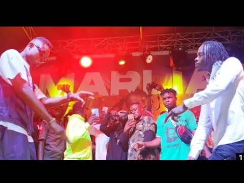 Rahman Jago Came Out To Challenge Naira Marley To Dance On Stage At Ibadan. [Leg Work Competitions