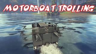 Motorboat Trolling Ark Official PVP