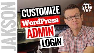 Customize Your WordPress Login Page With a Plugin - Customize the Admin Login 20i7