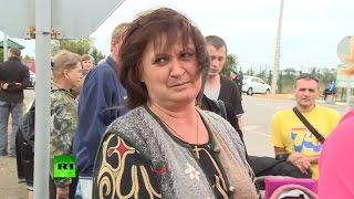 Жители Донецка массово возвращаются домой