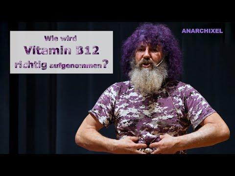 Robert Franz: Vorträge - Wofür ist Vitamin B12 wichtig und wie wird es am besten aufgenommen?
