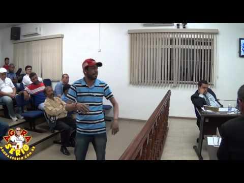 Manoel Colírio x Presidente da Câmara Léo da Jk
