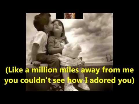 """My Eyes Adored You""  with lyrics  by, Frankie Valli"