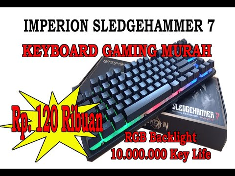 Keyboard Gaming Murah...IMPERION SLEDGEHAMMER 7