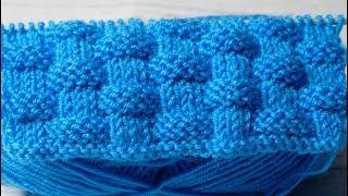 Плетенка вязание спицами схем