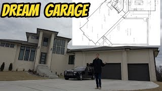 Building My Dream Garage Addition At My NEW HOUSE