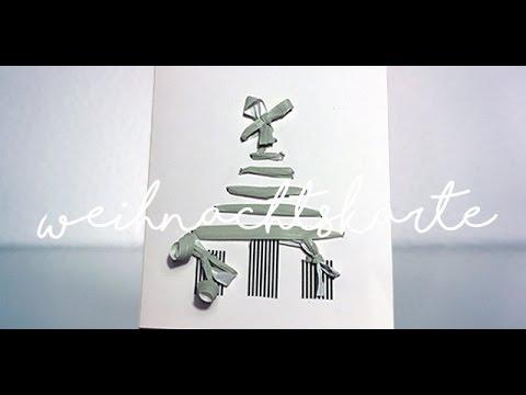 Diy I Weihnachtskarten Basteln Einfach I Idee No 16