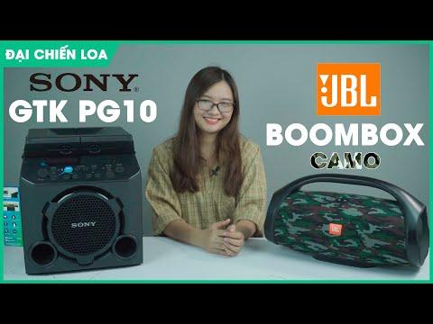 [Đại Chiến Loa] Sony GTK PG10 vs JBL Boombox| Con nào hơn???