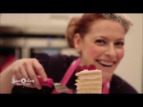 Himbeer-Waffelturm mit Zaubercreme   Sweet & Easy - Enie backt