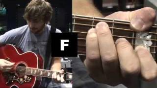 """Lady Antebellum - How To Play """"Need You Now"""" on Guitar"""