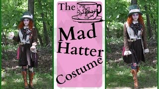 How To Make The Mad Hatter Costume Alice In Wonderland/Alice Through The Looking Glass