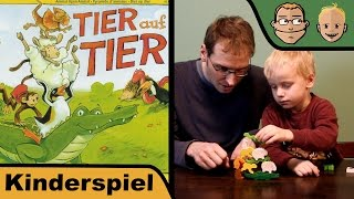 Tier auf Tier - Kinderspiel - Hunter & Sohn