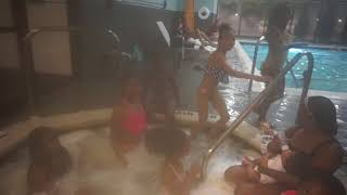 she ask a boy on a date (truth or dare in pool)!!!