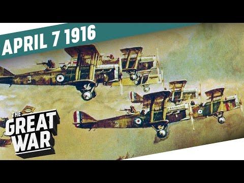 Vzdušné souboje a nálet na Řecko - Velká válka