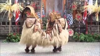 The Best Barong Dance at Batu Bulan Bali
