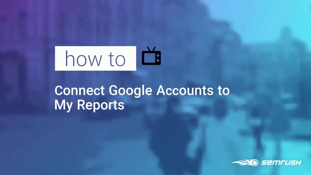 Adding Google Data to My Reports image 1