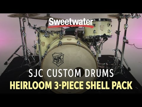 SJC Custom Drums Heirloom 3-Piece Shell Pack Review