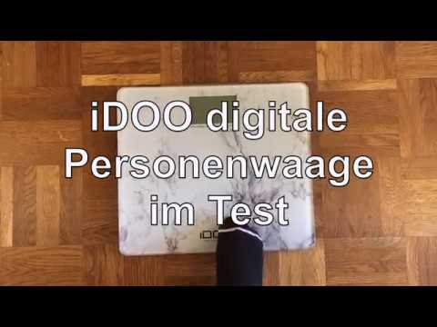 iDOO digitale Personenwaage Test - WAAGEN-TEST.DE